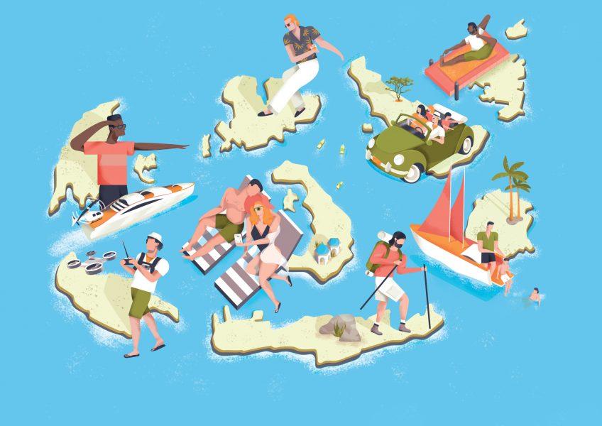 Greek Islands / Mr Porter