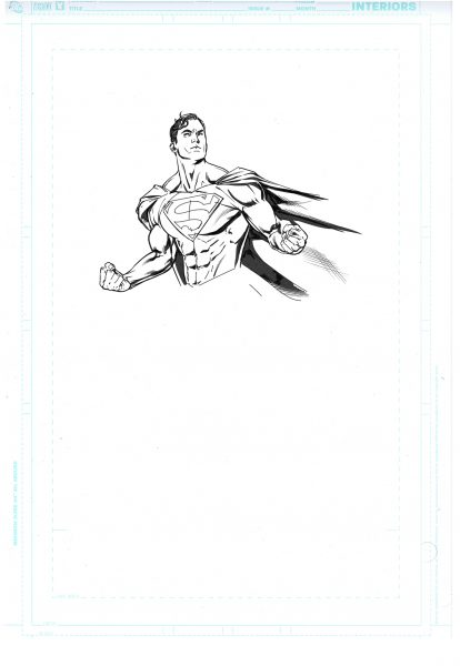 Action Comics / Cover 988 Figure Sketch 4