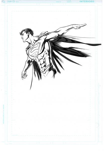 Action Comics / Cover 988 Figure Sketch 3