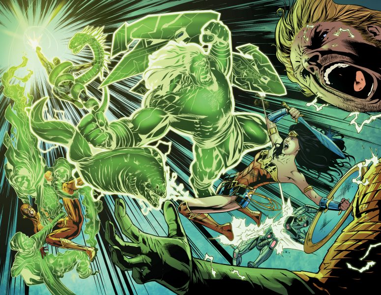Justice League America 8 / Pages 22 - 23