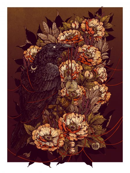 Chicken House / Witchborn by Nicolas Bowling / Art Print Version