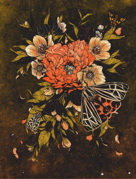 Ray LaMontagne / Bloom Lepis Art Print