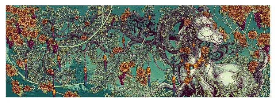 The Goat and Vine / Vineyard Mural