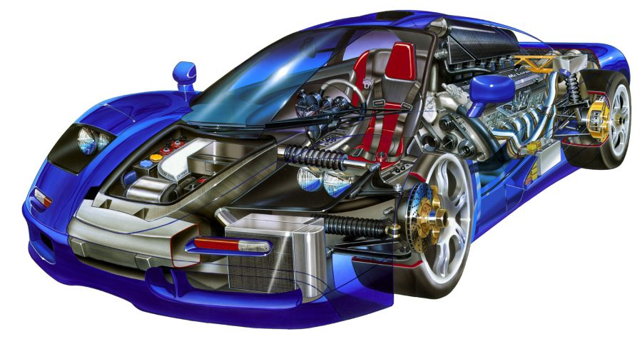 Maclaren F1 Engine