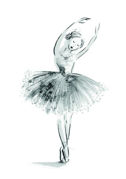 Ballet dancer 2 card