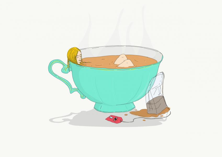 Soaking in Sereni-tea