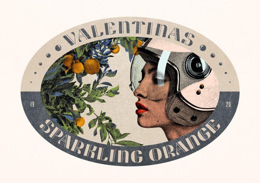 Valentinas Sparkling Orange