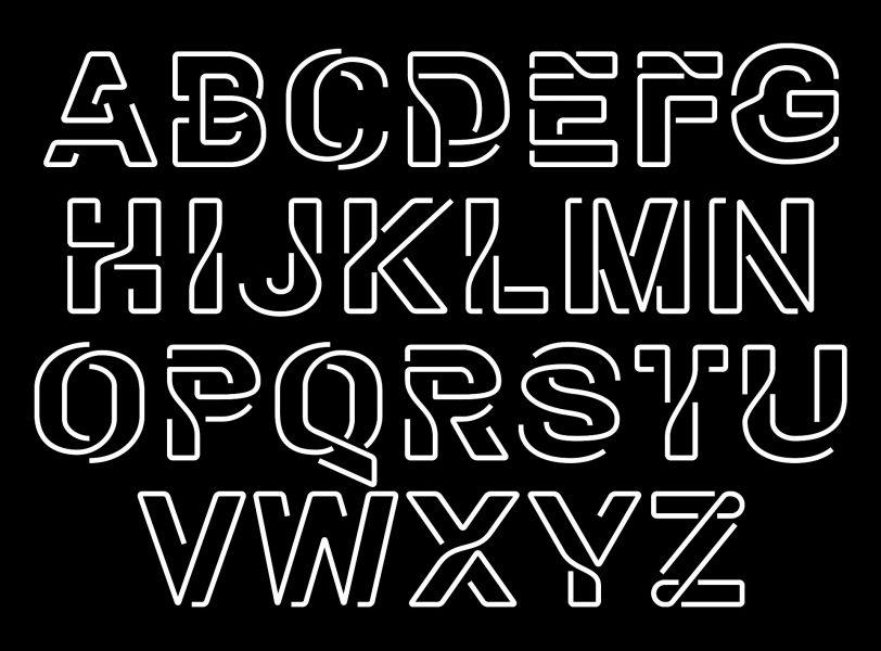 Flow-letters
