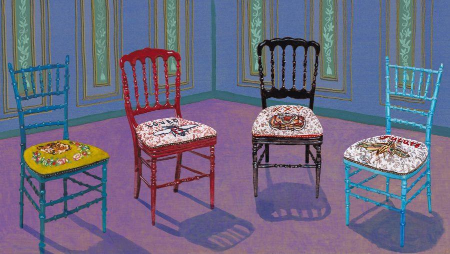 Gucci Décor Chairs