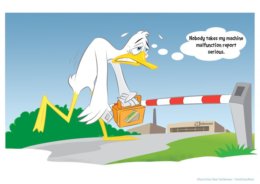 Henri Goldsmann-27-Infographic Cartoon-Logistic by ToonInYourHead Studios
