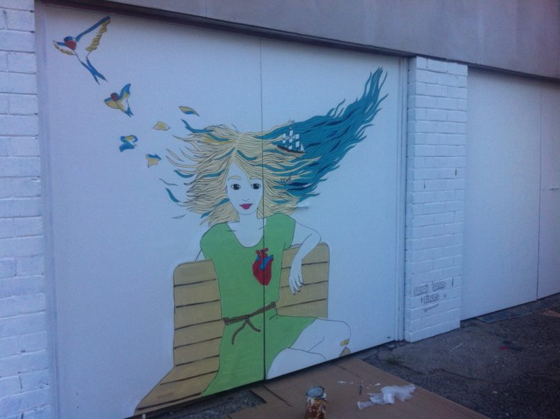 Mural In Bondi Beach, Sydney, Australia