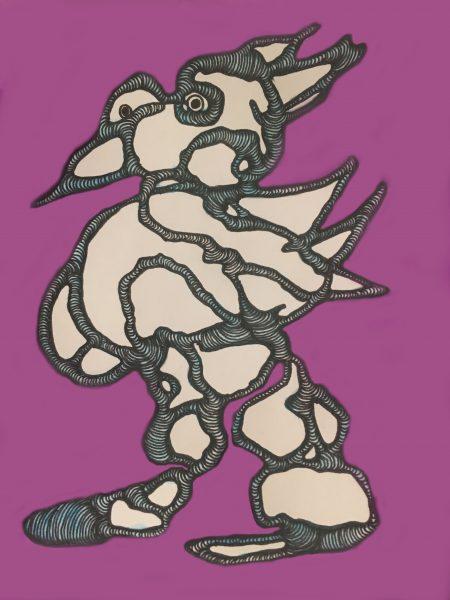 Purple Birdman