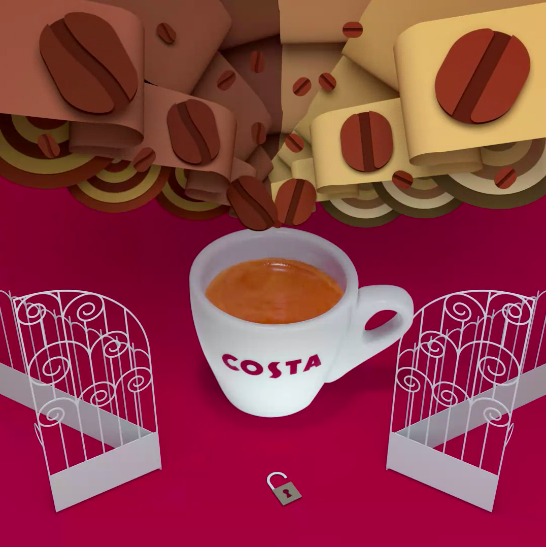 Signature Blend Mocha Italia / Costa Coffee