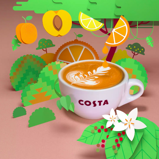 Character Roasts Peru / Costa Coffee