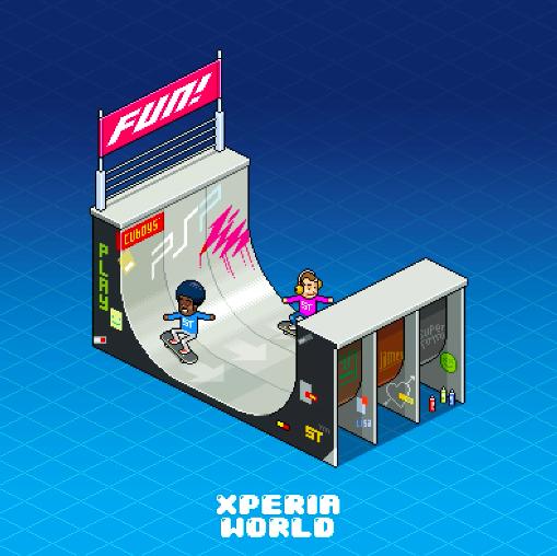 Xperia World Game
