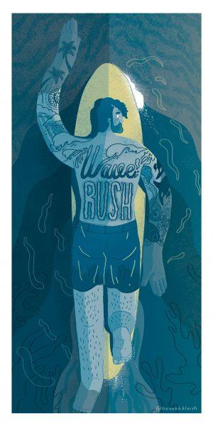 Wave Rush - Hannah Bluish - 180501
