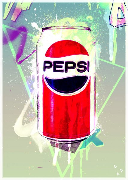 80's Pepsi Can