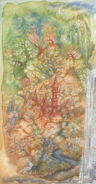 landscape with unicorns folio