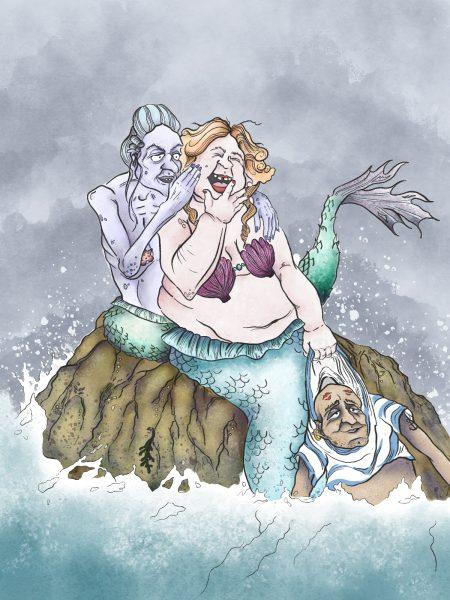 Mermaids Children's Book Illustration