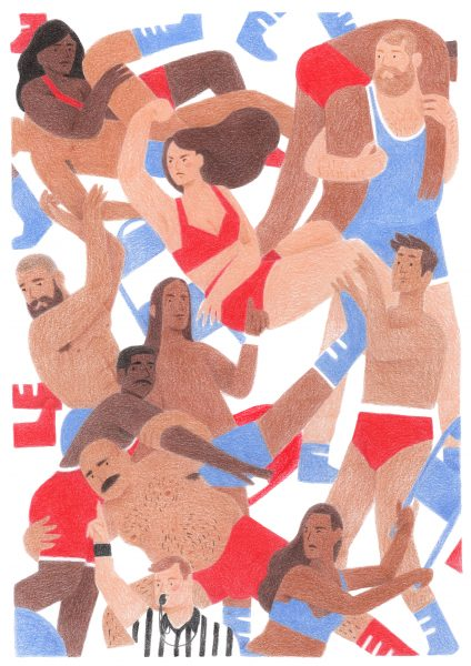 Wrestlin' - Sassify Zine