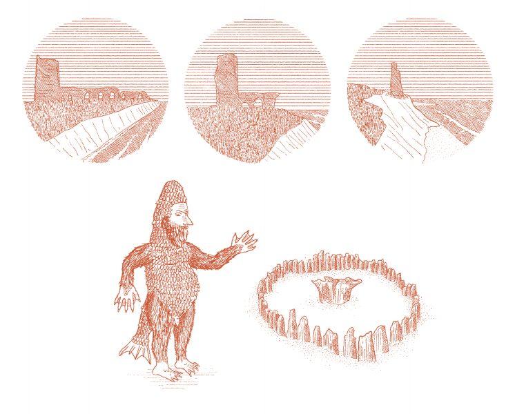 Spot Illustrations examples