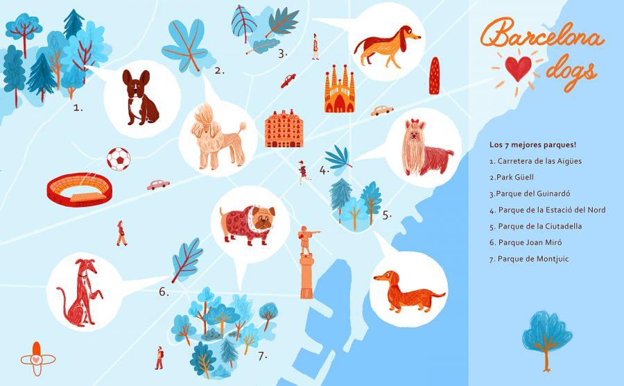BARCELONA - DOGS