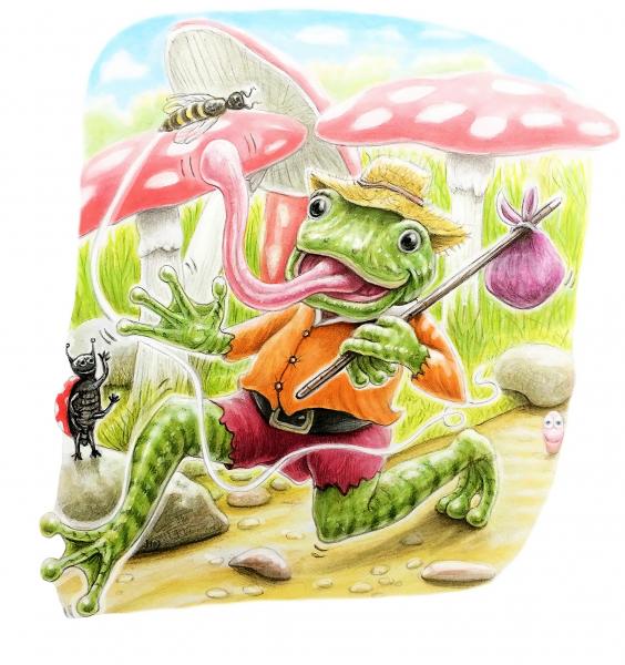 Billy frog_ 2