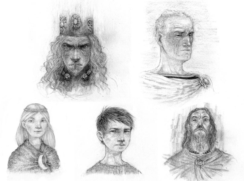 Boudicca and other characters - Patrick Miller