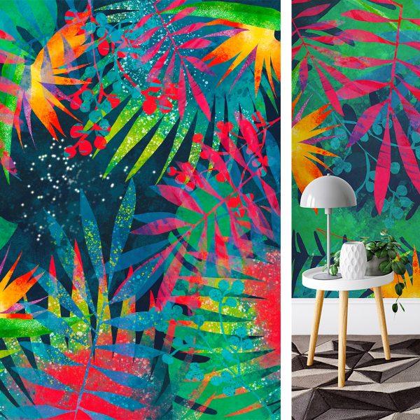 Midsummer Night wallpaper design