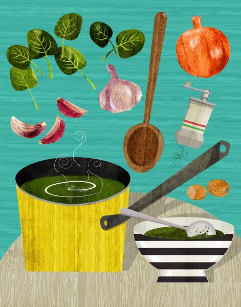 Spinich soup