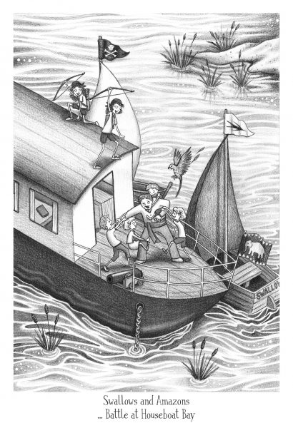 Swallows and Amazons - Battle at Houseboat Bay