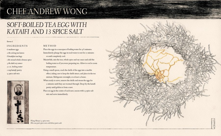 The Illustrated Wok (Chef Andrew Wong) - Patrick Miller