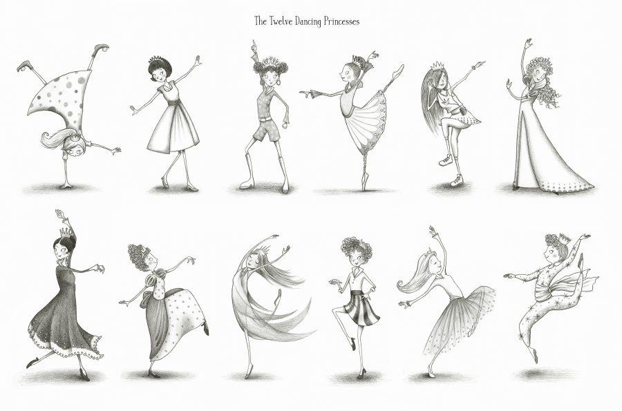 'The Twelve Dancing Princesses'