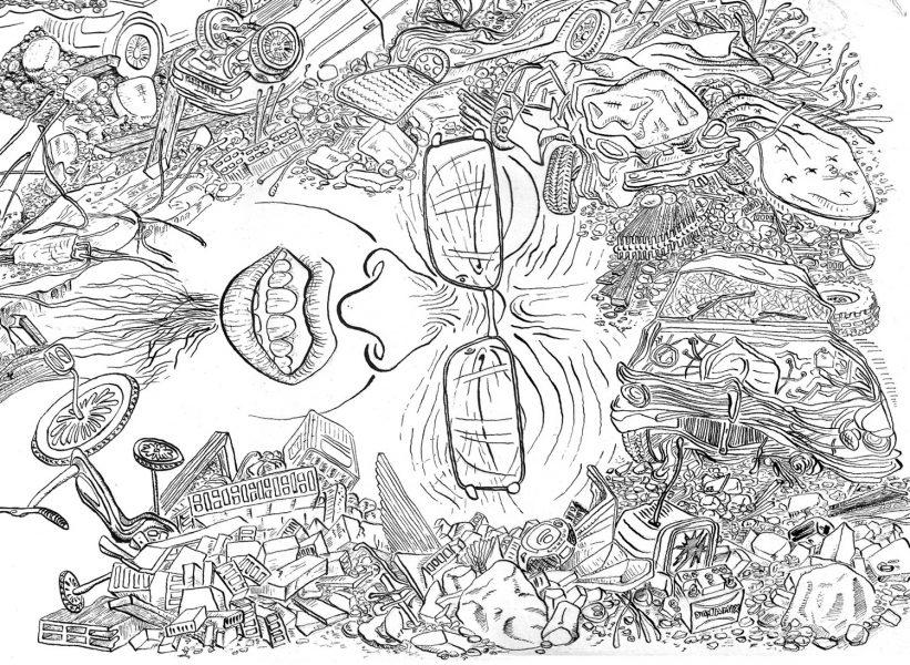 Earthquake(Sketch)