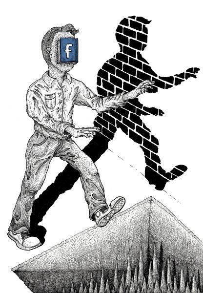 Facebook Face-hugger