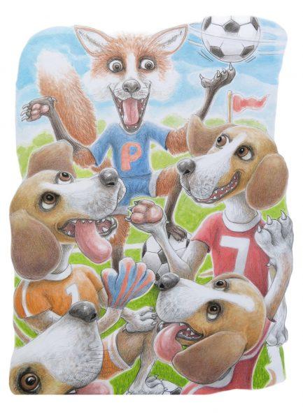 fox and hound football team