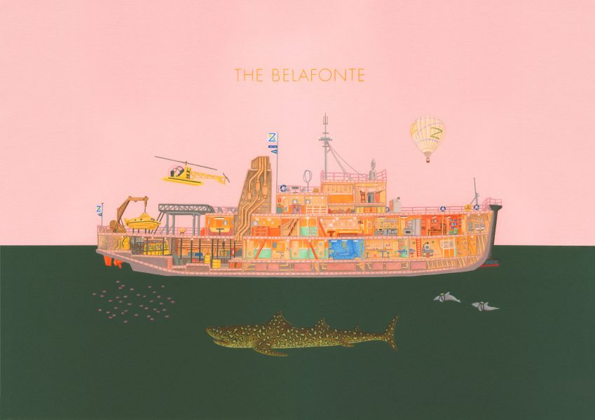 The Belafonte - Life Aquatic