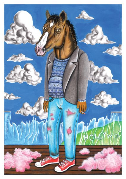 Bojack Illustration