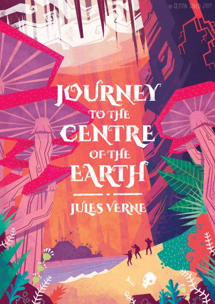 The Unlikely Ocean - Journey to the Centre of the Earth Book Cover