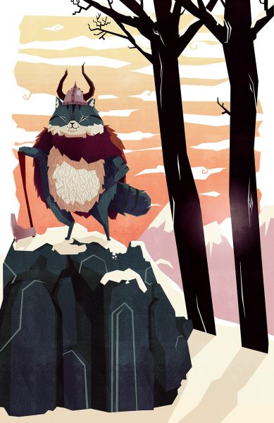 Klaus the Viking Cat