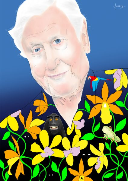 david attenborough (ret) a:w