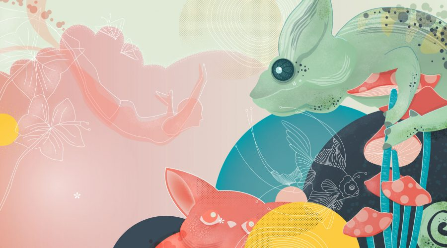 Web Page Illustration for MiuCreative