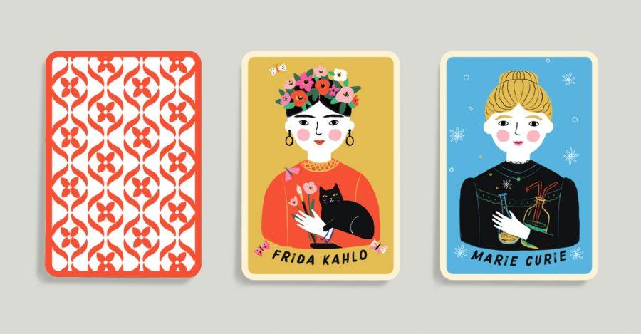 Mini Feminist Portrait Play Cards