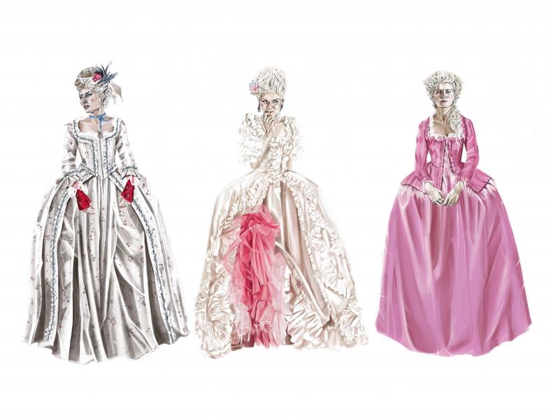 Kirsten Dunst 'Marie Antoinette'