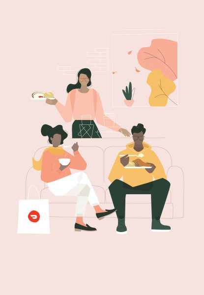 DoorDash, Friendsgiving Campaign