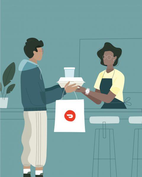 DoorDash, Pick-up Order Promotion