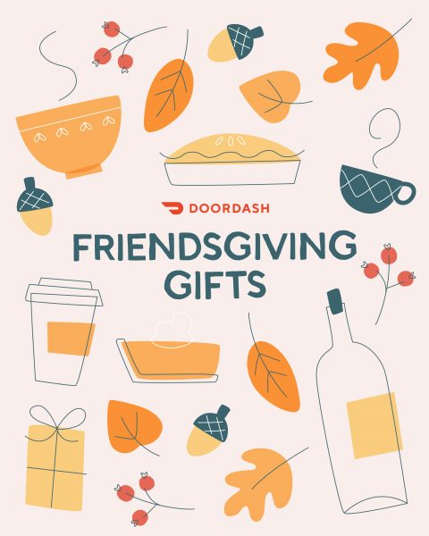 DoorDash, Friendsgiving Email Campaign