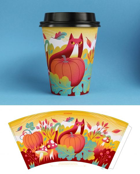Cup illustration for Drip For Drip