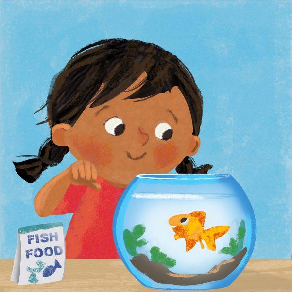 Renu & Rosie the Fish