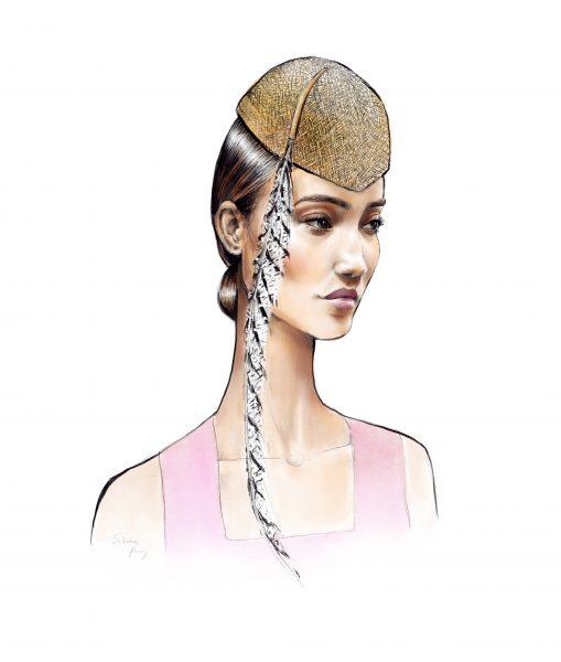 Harper's Bazaar hat 4.